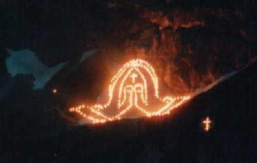 Bergfeuer 1989