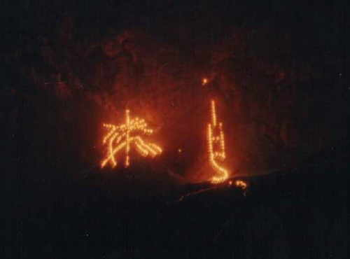 Bergfeuer 1990