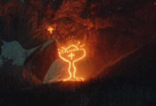 Bergfeuer 1991