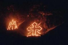 Bergfeuer 1987